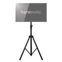Gator GFW-AV-LCD-1 Frameworks Standard Adjustable Tripod LCD/LED Stand For 100mm VESA compatible monitors
