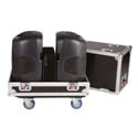 Gator G-TOUR SPKR-212 Double Speaker Case For Two 12 Inch Loud Speakers