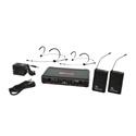 Galaxy Audio EDXR-38-Headset-D EDX Wireless Microphone System - Code D Freq. Range 584-607 MHz