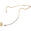 Galaxy Audio HSM24-OWP-2SEN Waterproof Dual-Ear Headset Mic with 2 Sennheiser Cables - Beige