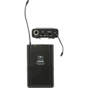 Galaxy Audio TQMBPN2 Quest 8 Belt Pack Transmitter - Frequency N2: 517.55 MHz