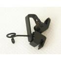 Vertical clip 10pk for  Sanken COS-11 Lavalier Mic in Black