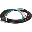 Laird HD4BNC-50 Canare V5-4CFB RG59 4-Channel 3G-SDI BNC Video Snake Cable - 50 Foot