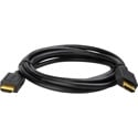 Connectronics 4K/2K HDMI Cable v1.4 Ethernet Type-A Male to Male - 6 Foot