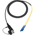 Camplex LEMO FUW to Duplex LC In-Line Fiber Optic Breakout Cable - 6 Foot