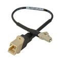 Camplex SC Female to LC Male OM1 Multimode Fiber Tactical Adapter Cable 6 Inch