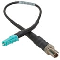 Camplex ST Female to LC Male OM3 Multimode Fiber Tactical Adapter Cable 6 Inch