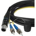 Camplex opticalCON DUO to Duplex ST Multimode Fiber Optic Breakout 6-Inch