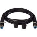 Camplex opticalCON QUAD Singlemode X-TREME Tactical Fiber Cable 1000 Foot