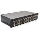 Camplex 24-Port ST to ST Optic Fiber Feedthru Rackmount Cabinet