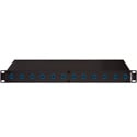 Camplex 12-Port LC to LC Optic Fiber Feedthru Rackmount Cabinet
