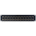 Camplex HF-OPRP-6 2RU 24-Port Duplex Singlemode/Multimode ST Fiber Feedthru Panel