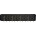 Camplex HF-SC24-SXMM 24-Port SC Simplex Multimode Feed-Thru Panel