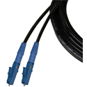 Camplex TAC1 Simplex Singlemode LC Fiber Optic Tactical Cable - 656 Foot