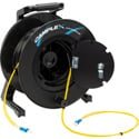 Camplex 2-Channel LC Singlemode Fiber Optic Premium Broadcast Tactical Snake Reel - 250ft