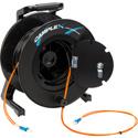 Camplex 2-Channel LC Multimode OM1 Fiber Optic Tactical Reel - 1500 Foot
