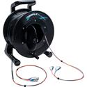 Camplex 2-Channel ST Single Mode Fiber Optic Tactical Snake on Reel 1000 Ft