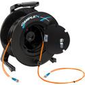 Camplex 2-Channel ST Multimode OM1 Fiber Optic Tactical Reel - 500 Foot