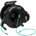 Camplex 2-Channel ST Multi Mode OM3 Fiber Optic Tactical Reel - 250 Foot