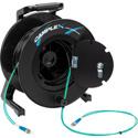 Camplex 2-Channel ST Multi Mode OM3 Fiber Optic Tactical Reel - 1000 Foot