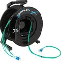 Camplex 4-Channel LC Multi Mode OM3 Fiber Optic Tactical Reel - 1000 Foot