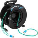 Camplex 4-Channel ST Multi Mode OM3 Fiber Optic Tactical Reel - 1000 Foot