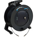 Camplex TAC1 Simplex 1-Channel OM3 Multimode ST Fiber Optic Tactical Cable Reel 1000 Foot