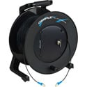 Camplex TAC1 Simplex Singlemode LC Fiber Optic Tactical Cable Reel - 1000 Foot