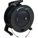 Camplex TAC1 Simplex Singlemode ST Fiber Optic Tactical Cable Reel - 500 Foot