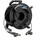 Camplex opticalCON QUAD to opticalCON QUAD MM Fiber Optic Tac Reel 250 Ft