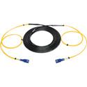 Camplex 2-Channel SC-Single Mode Tactical Fiber Optical Snake - 50 Foot