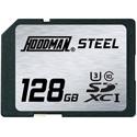Hoodman RAWSDXC128GBU1 Steel Secure Digital High Capacity 128GB UHS-1
