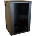 Hammond RB-SW18 18U Swing-Out Wall Cabinet