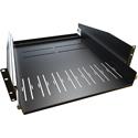 Hammond RSP3U20 Two Post Sliding Rack Shelf - 3RU - 20 Inch