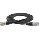 Hosa HXX-020 Pro Balanced Interconnect REAN XLR3F to XLR3M - 20 Foot