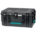 HPRC 2780WDK Black/Blue Wheeled Hard Resin Case w/ Divider Kit