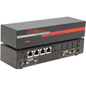 Hall Research UVA-4 1x4 VGA with Audio Over CAT5 Sender