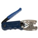 ICM CPLCRBC-BR Cable Pro Radial Double Bubble Compression Tool - Blue