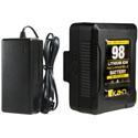 ikan C-1K-KIT-98S IB-HDL98 Compact Li-Ion Battery and Charger Kit (V-Mount)