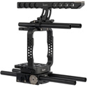 ikan ELE-ME200-RIG Complete Canon ME200 Camera Rig System with Top Handle / Rods / RoseArm Monitor Mount