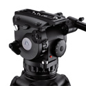 E-Image GH10L 100mm Pro Fluid Video Head 22 lbs max