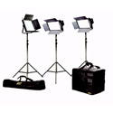 ikan IFB2511 Featherweight Large Bi-color Kit w/2 IFB576 & 1 IFB1024 w/AB & Sony-V Mount Plates