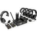 ikan LIVECOM1000 Wireless Intercom System with 4 Beltpacks