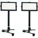 ikan PL74-2PT-TKIT Piatto 7x4-Inch Daylight Soft Panel LED 2-Point Light Kit