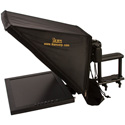ikan PT3700-SDI 17-Inch Teleprompter with 17-Inch Monitor for Location and Studio with SDI Inputs