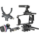 ikan STR-BMPCC6K-KIT Stratus Cage Kit for Blackmagic Pocket Cinema Camera 6K & 4K With Follow Focus & Lens Support