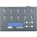 ILY DM-FU0-10V09B Mini USB PRO 9 Target USB Flash Drive Duplicator Copier with LCD - USB 1.0/2.0/3.0 & 3.1