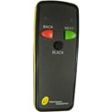 Interspace Industries I2TX-S3 Wireless Remote Control Transmitter - Triple Button - Black/Yellow - No Laser Pointer