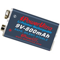 iPower Li-Polymer Rechargeable Battery - 9V 800mAh