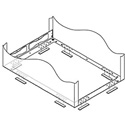 Middle Atlantic Polycarb Rack Isolation Kit